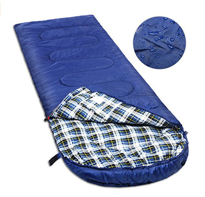 Cotton Flannel Sleeping Bag for Adults